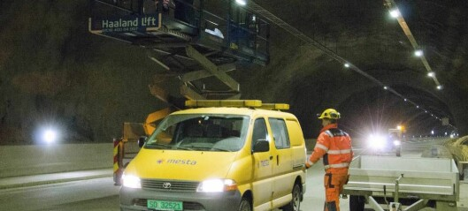 Alt i rute slik at du kan køyre gjennom Filefjelltunnelen i oktober