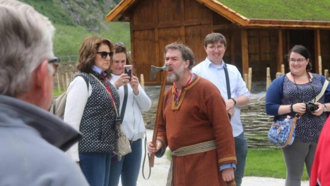 NJARDARHEIMR: Sjå bileta frå vikinglandsbyen. Alle foto: Ole Ramshus Sælthun