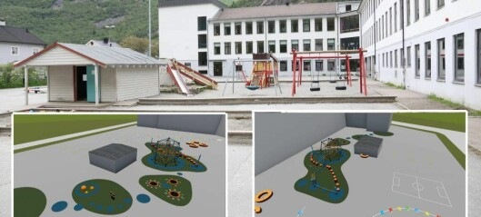 Seier politikarane ja, vil skuleplassen bli som ny i sommar