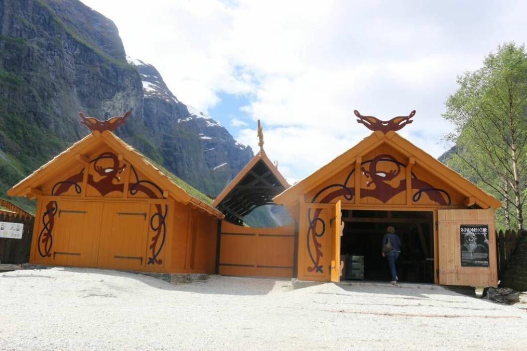 PRIORITET: Mellom anna grunna den nye vikinglandsbyen i Gudvangen har prosjektet med VA-anlegg og parkeringsplass høg prioritet. Arkivfoto