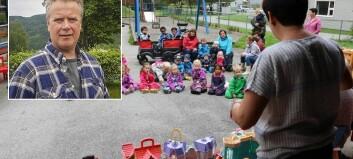 Han fryktar mindre plass vil føre til meir stress i barnehagen