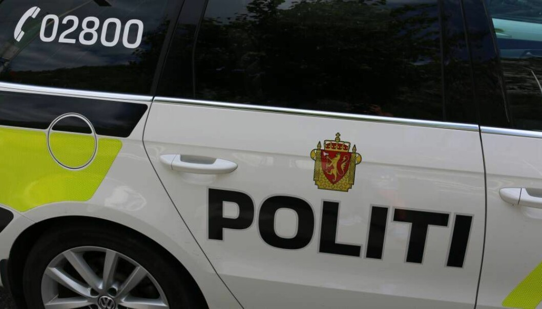 UTRYKKING: Politiet rykte ut til Sogndalselvi.