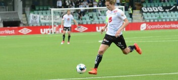 Johan Hove (16) fekk debuten frå start