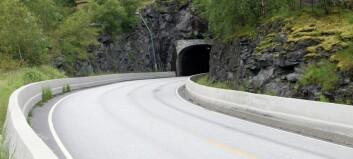 Onsdag stengjer denne tunnelen i tre timar