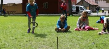 170 ungar og ungdommar i aksjon under Gla` i Lærdal