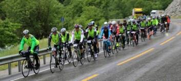 600 syklistar klare for 4609 høgdemeter