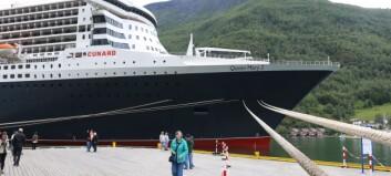 Flåm blant hamnene som skal gje rabatt til miljøvennlege cruiseskip