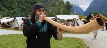 Vikingar valfartar Gudvangen
