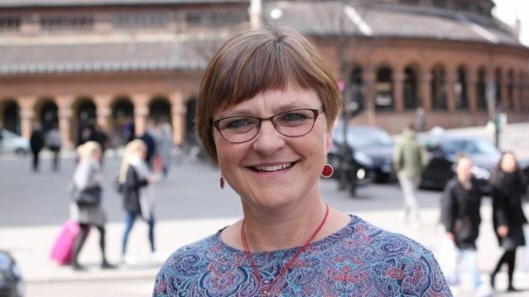 PRIORITERING: Fylkestingspolitikar Trude Brosvik (KrF) meiner strekka mellom Bogstunnelen og Vadheimsdalen er ein flaksehals som staten bør prioritere å utbetre.