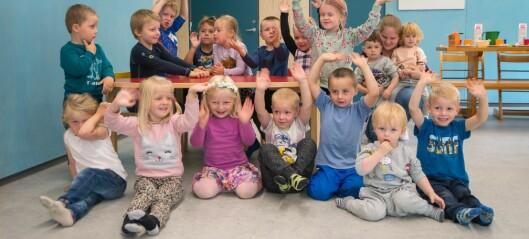Her jublar dei over ny barnehageavdeling på Norane