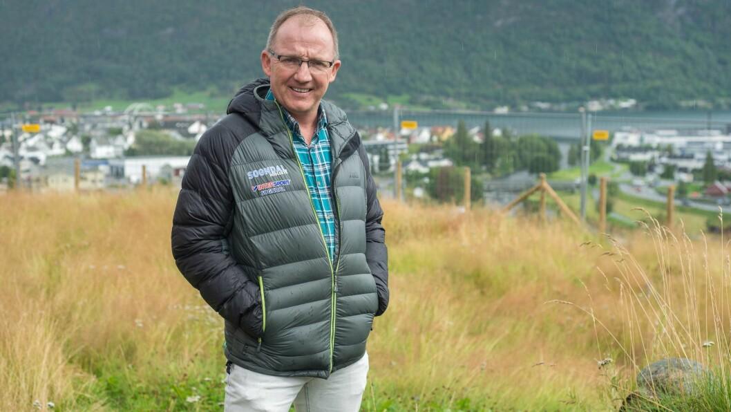 ROLLEBYTE: Per Odd Grevsnes tek eitt års permisjon frå jobben som dagleg leiar i Sogn Næring. I mellomtida skal han leie utviklinga av skisenteret i bygda.