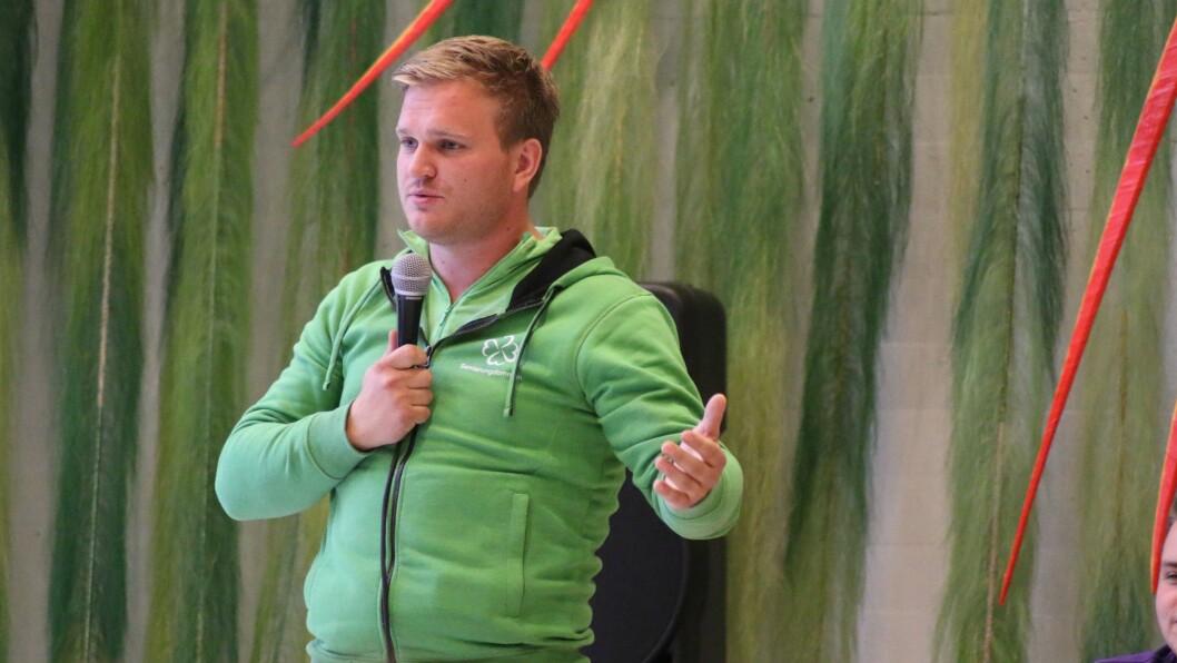 INNSPURT: Nokre dagar før stortingsvalet ligg Senterpartiet på vippen til å få inn to kandidatar på Tinget. Aleksander Øren Heen kan bli den andre, dersom alt går hans veg.
