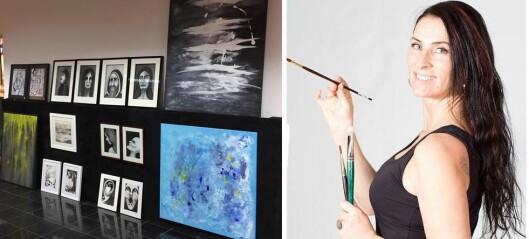 Endeleg kan ho vie all tid til kunsten – klar med ny utstilling
