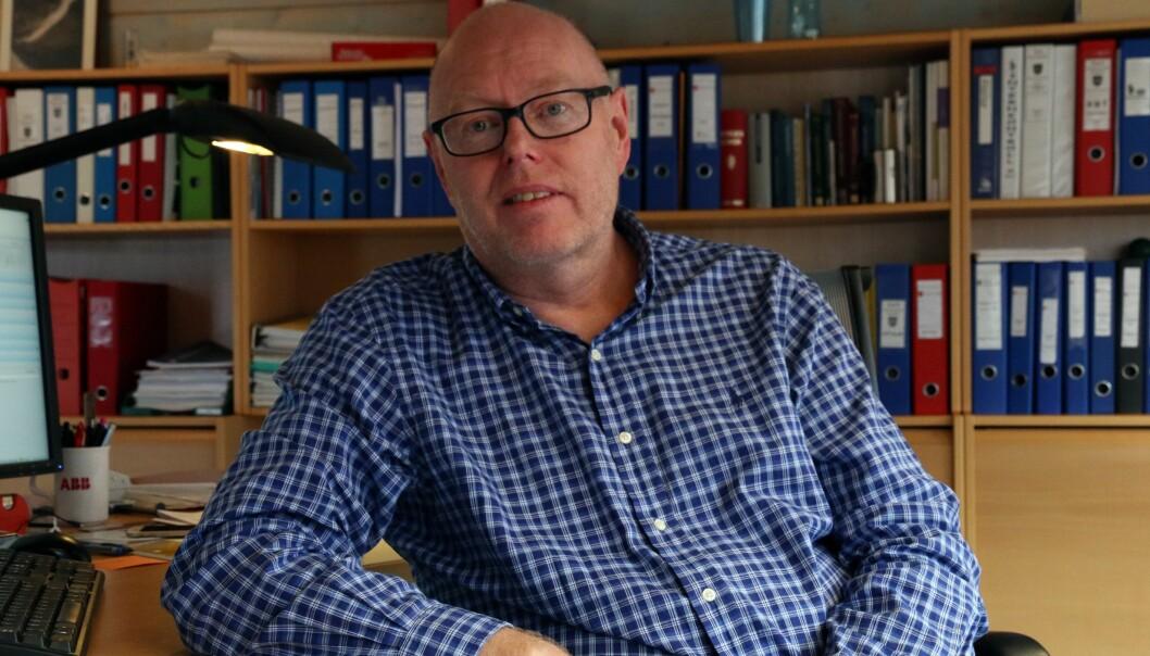PRISRAS: I 2020 har kraftprisane stupt. Energisjef Jørgen Luggenes i Årdal trur prisane vil halda seg låge lenge.