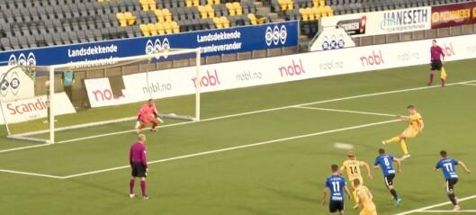 Pustar både klubbrekord og Nannskog i nakken – vert rosa opp i skyene av trenaren