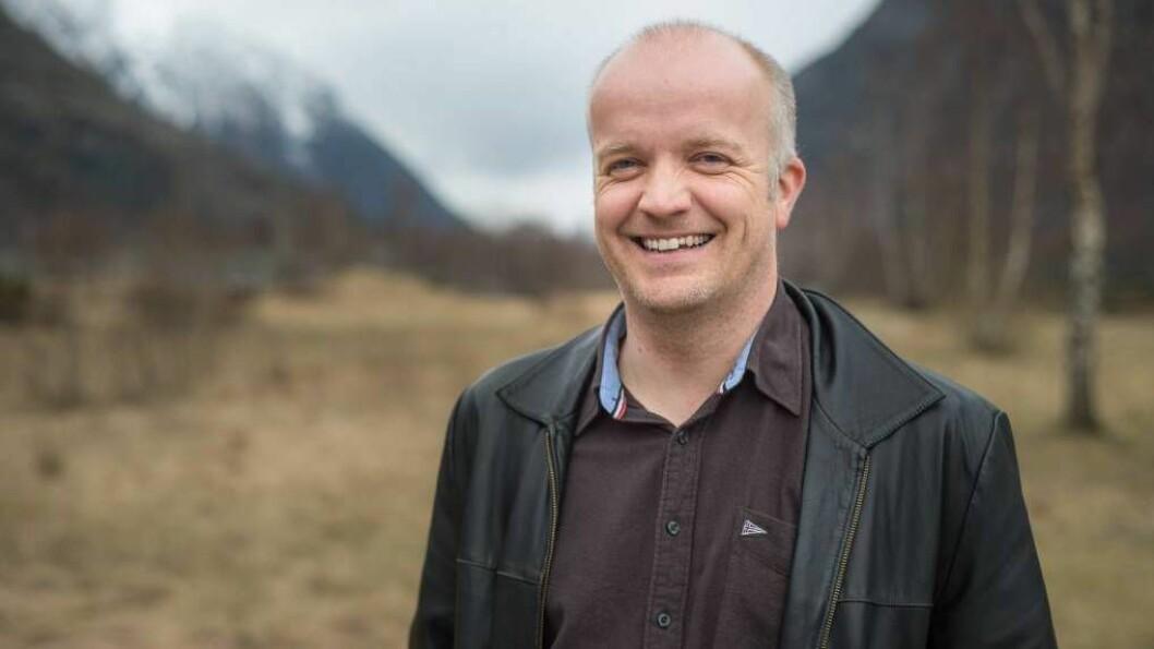 GLAD MANN: Dagleg leiar Harald Blaaflat Mundal er glad for at tomtespørsmålet i Håbakken-satsinga er avklara.