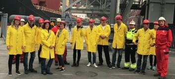 Denne gjengen var på næringsreise i Sogn: – Dette med solcelle var eg ikkje klar over
