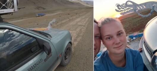 Reiste frå Flåm til Mongolia i eit gamalt vrak