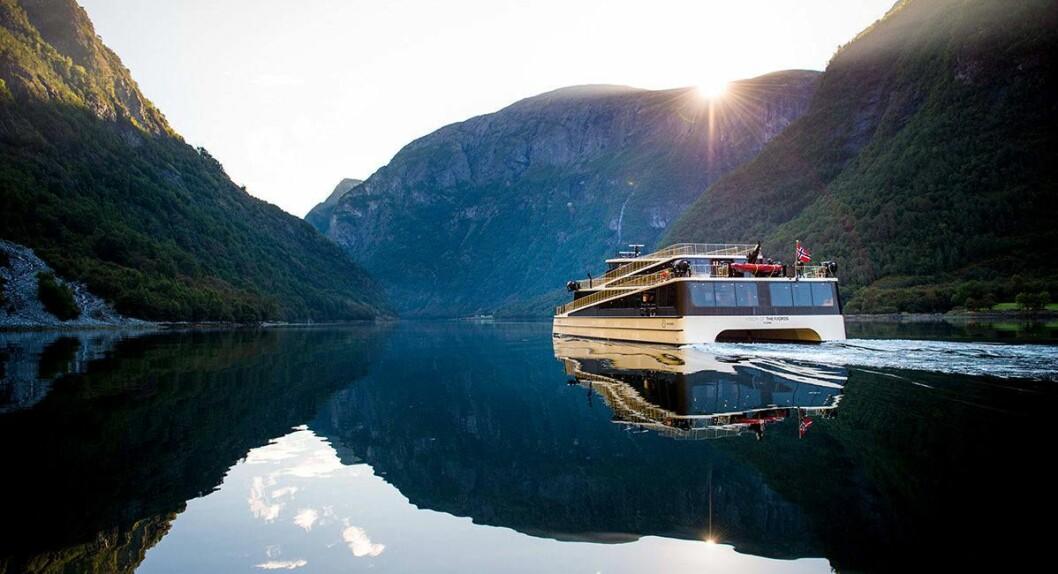 THE FJORDS: Mange ser nok fram til turar på fjorden att.