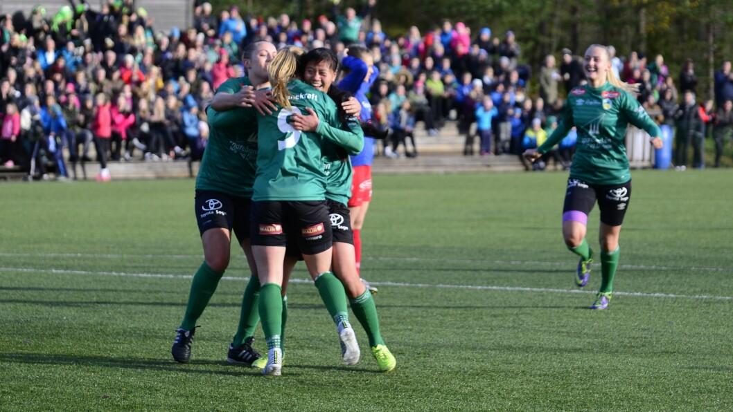 SAMARBEID: Sogndal Fotball og Kaupanger IL skal samarbeida meir rundt damefotballen.