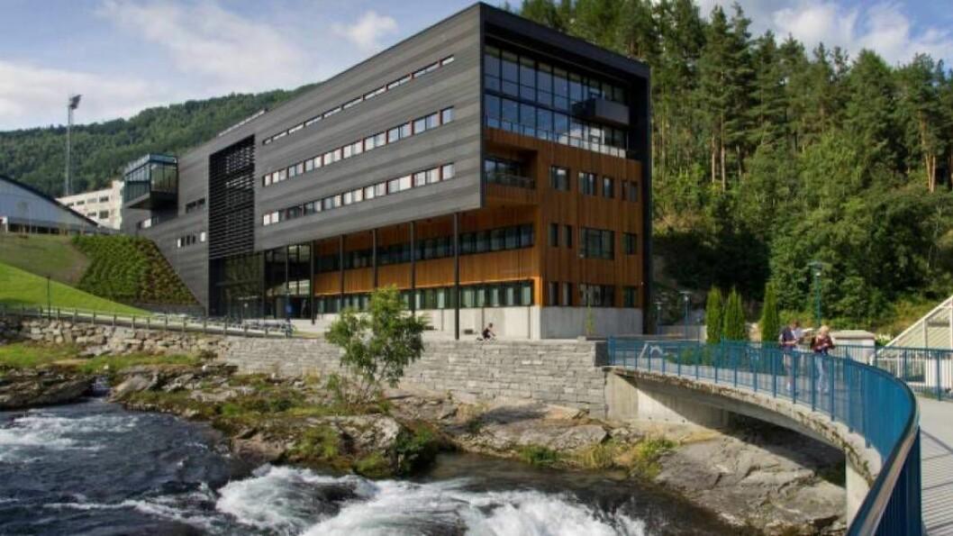 GLADE STUDENTAR: Idrettsstudentane i Sogndal er blant dei mest nøgde i heile landet, viser fersk undersøking.