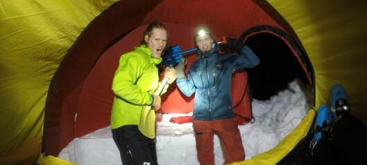 Turbloggen: Slik sjekkar du om snøen du ferdast på er trygg