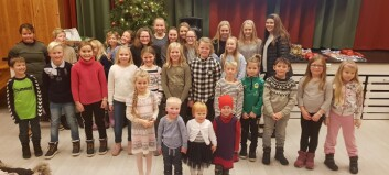 God julestemning på Skogly