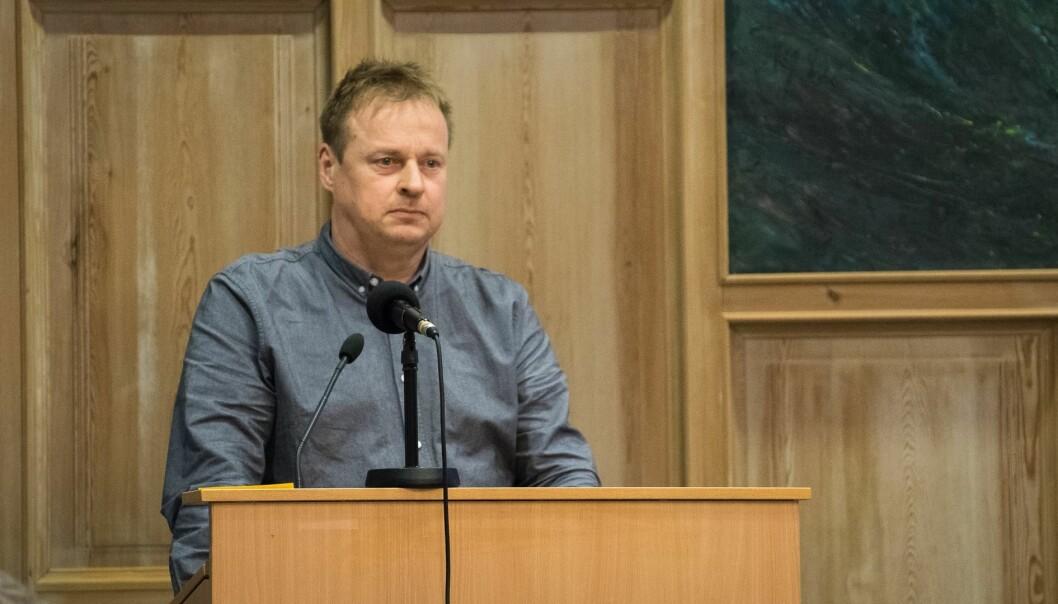 INKLUDERING: Gruppeleiar i Sogndal Høgre Arne Glenn Flåten var blandt fleire som reagerte på at dei andre partia ikkje hadde blitt inkluderte i tilsetjinga av ny kommunedirektør.