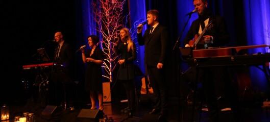Dei avslutta årets juleturné med konsert i Årdal