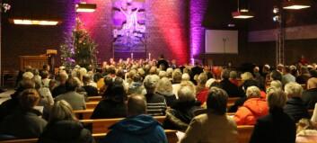 Sjå bilete frå julekonserten i Farnes kyrkje