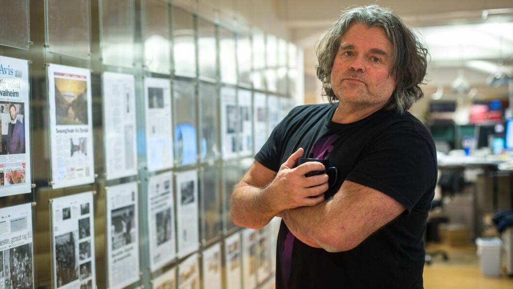 GIR SEG: Redaktør Jan Inge Fardal i Sogn Avis har takka ja til redaktørjobb i Oslo.