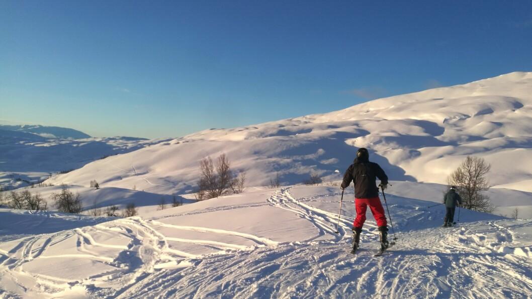 KNALLFØRE: Skisesongen 2017-2018 ser ut til å verte fantastisk – både for skisentera og skigåarane.