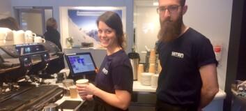 Sogndal har fått sin første kaffibar