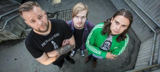 Bandet årdølen spelar i blir hylla av Metallica-trommis