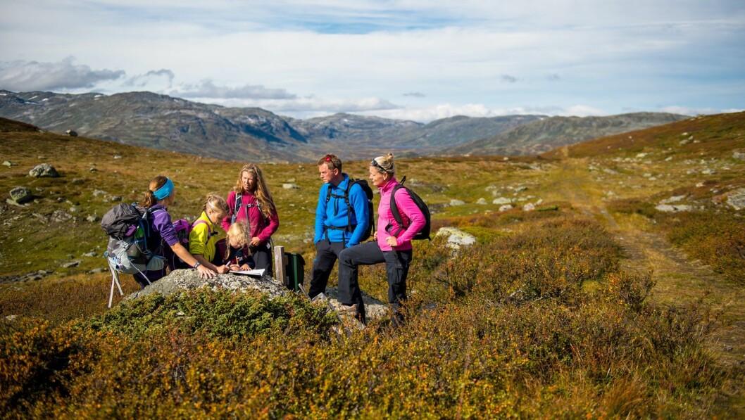 FJELLIDYLL: Vandring og sykling er aktivitetar som lokkar turistar, og som Kongevegen innbyr til. No vil reiselivsaktørar i Vang og Lærdal gå saman for å henta ut potensialet.