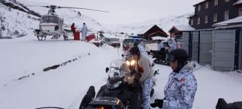 Statens naturoppsyn skaut elg frå helikopter i Nordfjella