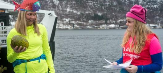Bli med studentane i Sogndal på fargerikt rebusløp