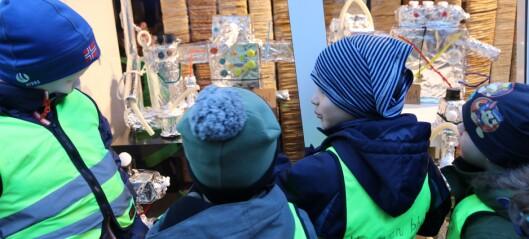 Sjekk robotkunstverka til ungane i Årdal