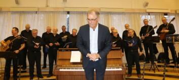 Sjå bileta frå den fyrste Syng med oss-konserten i Årdal på seks år