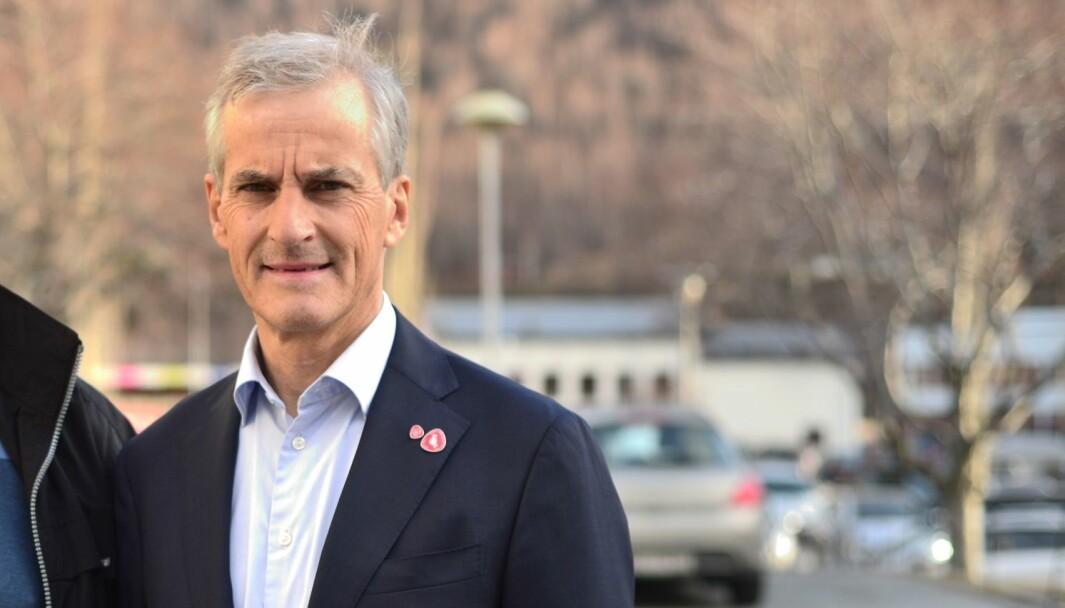 NY REGJERING: Jonas Gahr Støre presenterte torsdag si nye regjering.