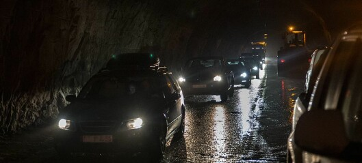 Fri ferdsle i Aurlandstunnelane