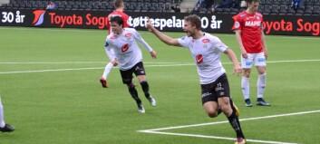 Fredriksen stanga inn to mål og sikra årets første trepoengar
