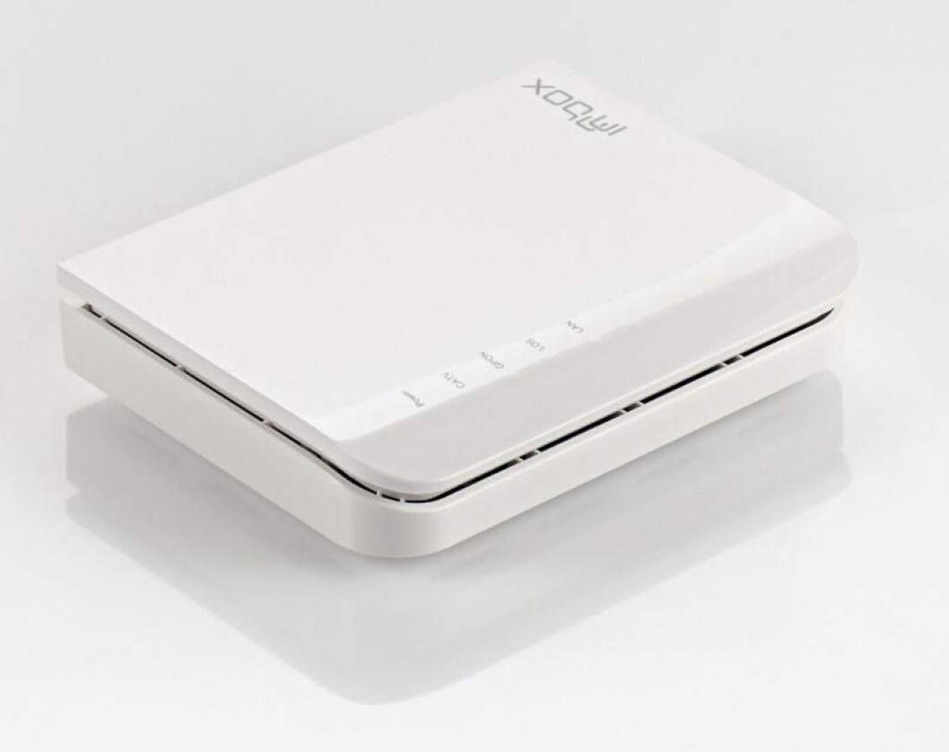 INGEN WiFi:For deg som har eigen router og WiFi-løysing.