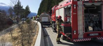 Gransking skal finna svar på kvifor brannbilen mista kontrollen