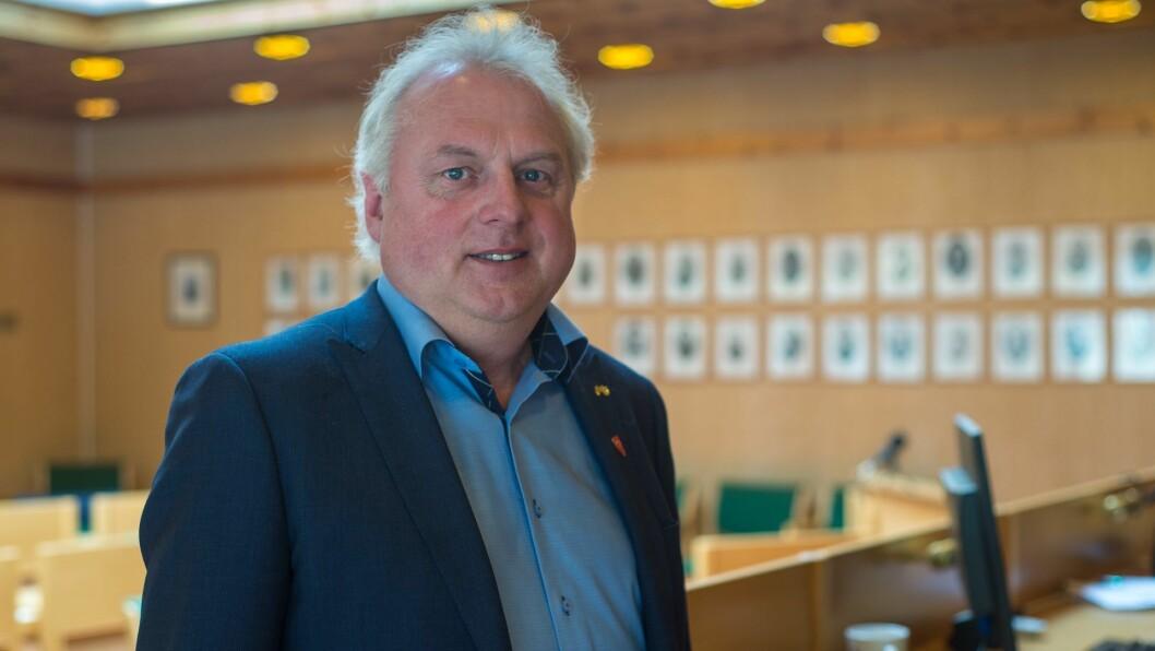 IKKJE NÅDD ALLE MÅL: Lærdal har vore igjennom ein omstillingsprosess. – Mykje godt arbeid er gjort, seier Jan Geir Solheim.