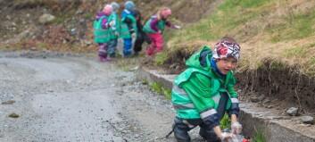 Han er miljøagent i barnehagen: – Eg hjelper jorda å ikkje få feber