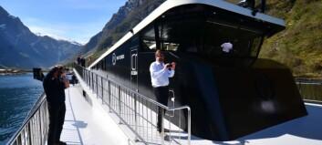 Viste fram heilelektriske Future of the Fjords til internasjonal presse