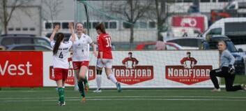 For første gang stiller Jotun med eit seniorlag for damer i fotball