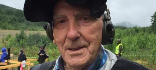 90 år med falkeblikk: rekord i tal landsskyttarstemne