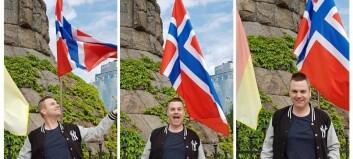 Eurovision-fan Espen (35) frå Luster er på plass i Lisboa: - Som liten såg eg VHS-opptak frå finalen om att og om att